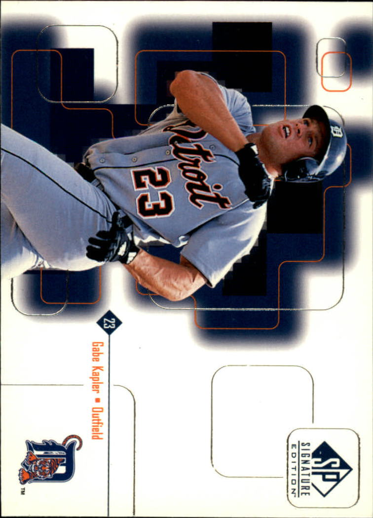 1999 SP Signature #19 Gabe Kapler