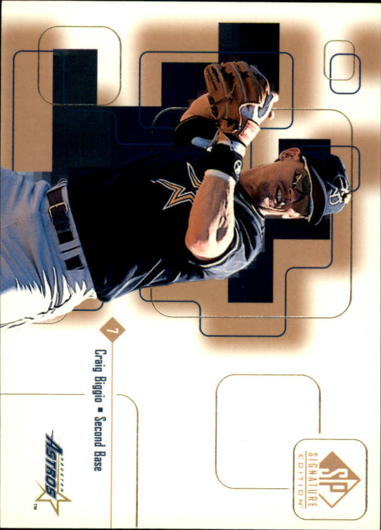 1999 SP Signature #20 Craig Biggio