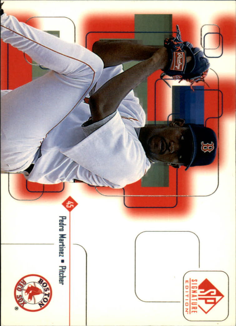 1999 SP Signature #22 Pedro Martinez