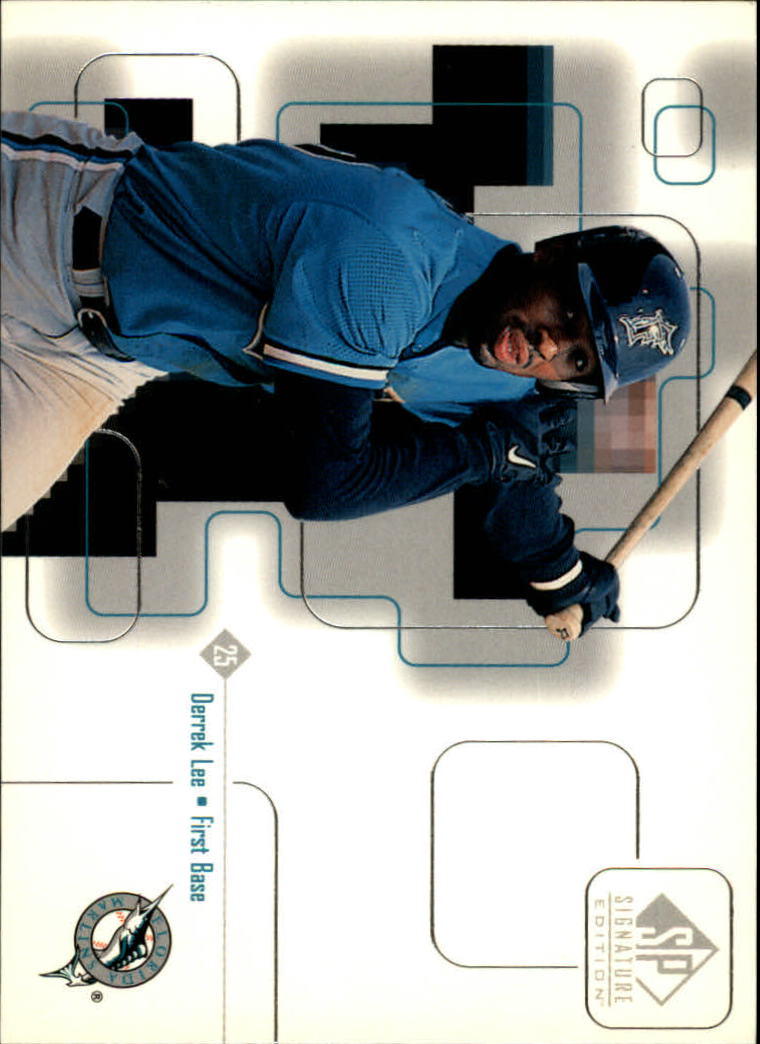 1999 SP Signature #24 Derrek Lee