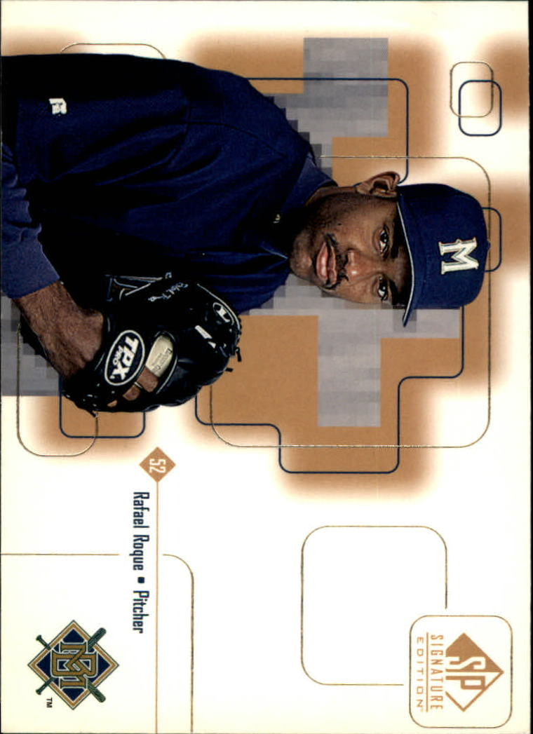 1999 SP Signature #29 Rafael Roque RC