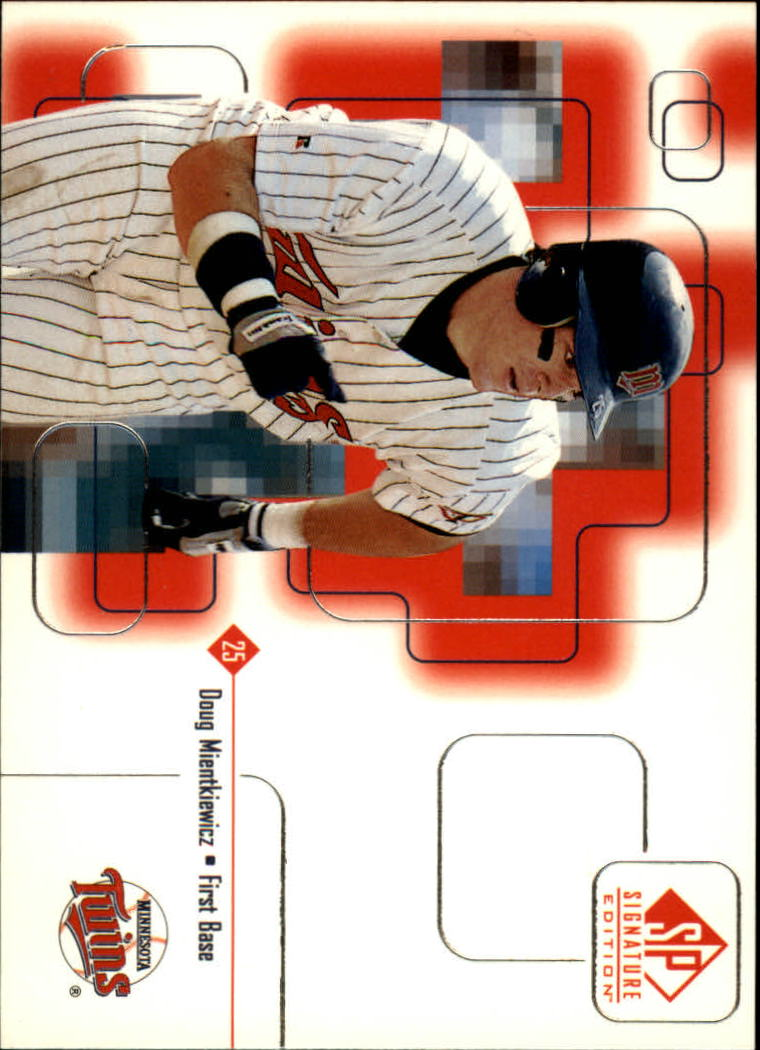 1999 SP Signature #93 Doug Mientkiewicz RC