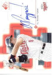 1999 SP Signature Autographs #AJP A.J. Pierzynski