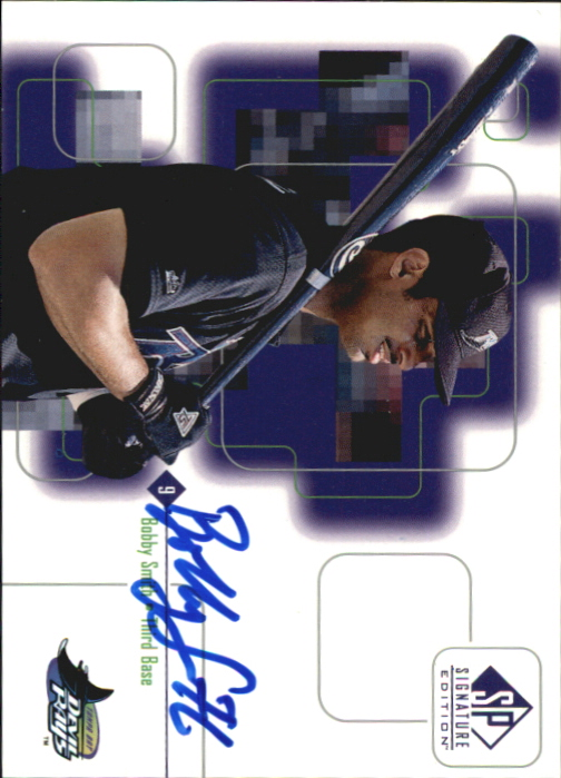 1999 SP Signature Autographs #BS Bobby Smith