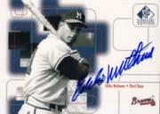 1999 SP Signature Autographs #EMA Eddie Mathews