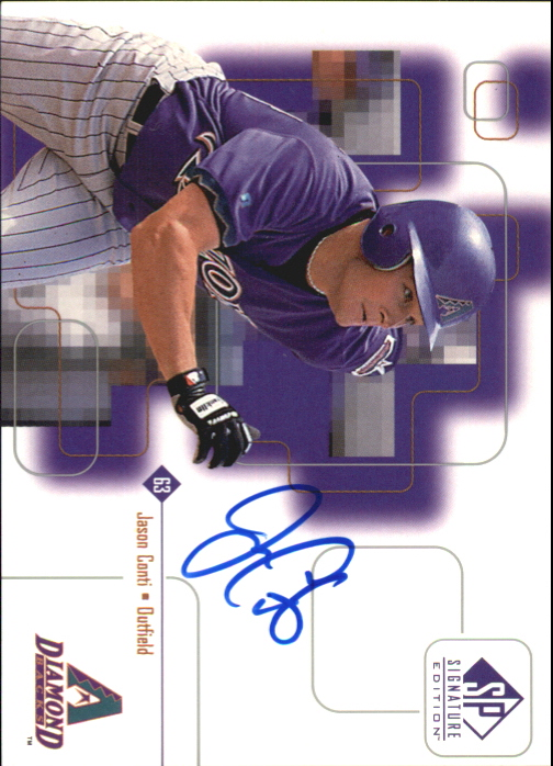 1999 SP Signature Autographs #JC Jason Conti