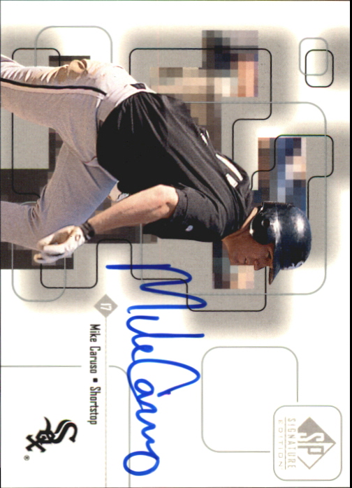 1999 SP Signature Autographs #MC Mike Caruso