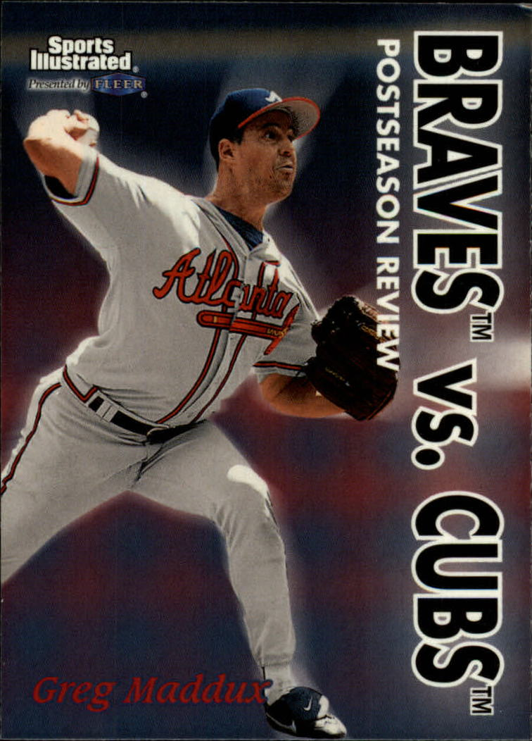 1999 Sports Illustrated #7 Greg Maddux POST