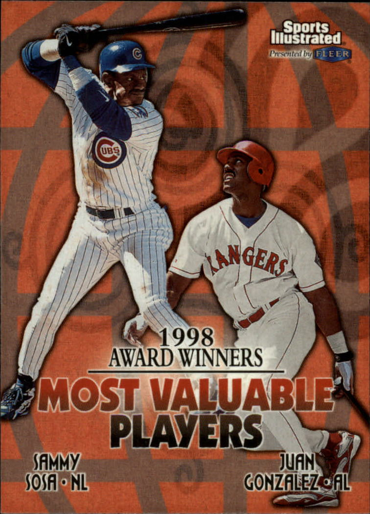 1999 Sports Illustrated #20 S.Sosa/J.Gonzalez AW