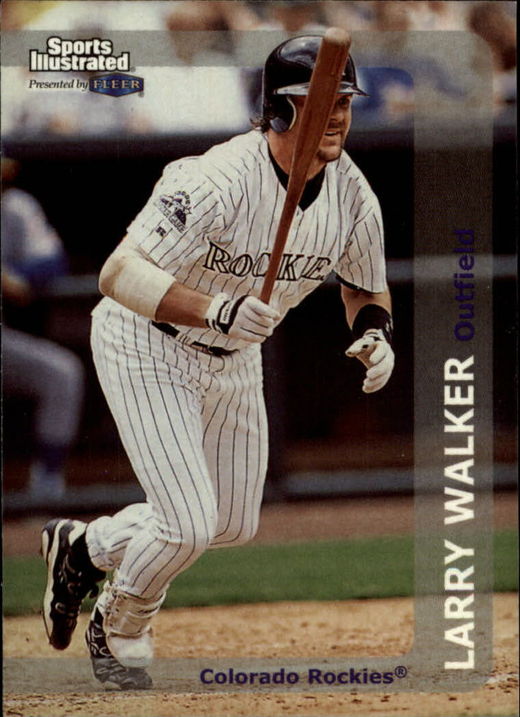 1999 Sports Illustrated #110 Larry Walker