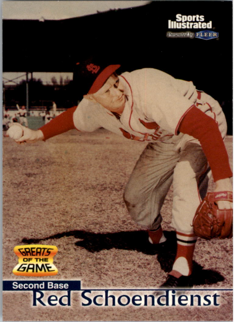 1999 Sports Illustrated Greats of the Game #2 Red Schoendienst