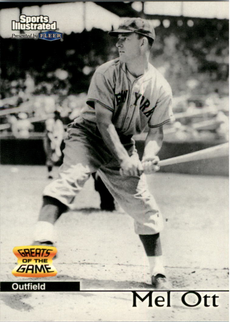 1999 Sports Illustrated Greats of the Game #5 Mel Ott
