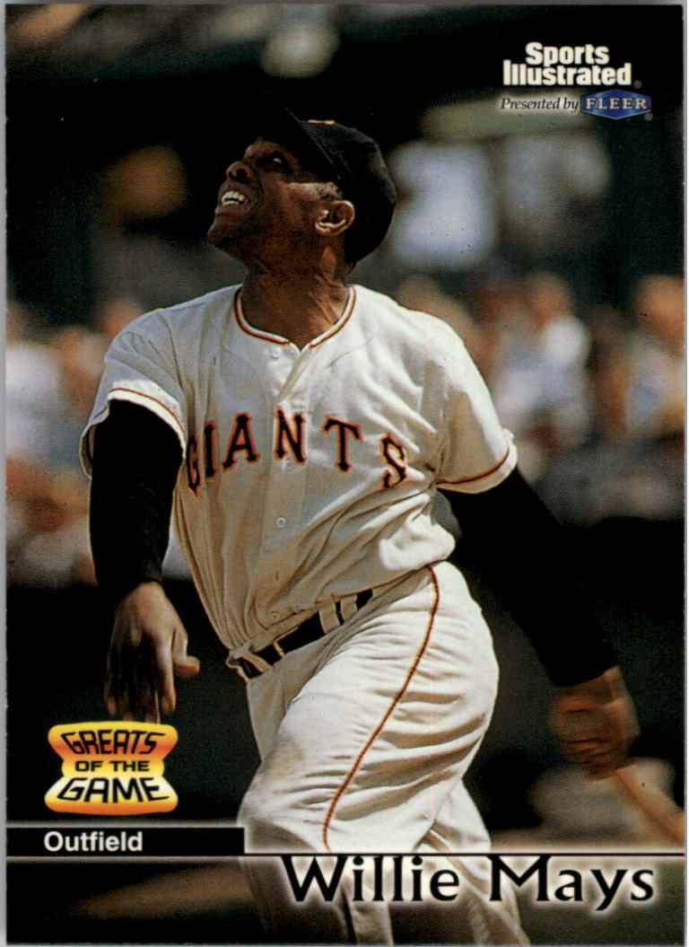 1999 Sports Illustrated Greats of the Game #24 Willie Mays