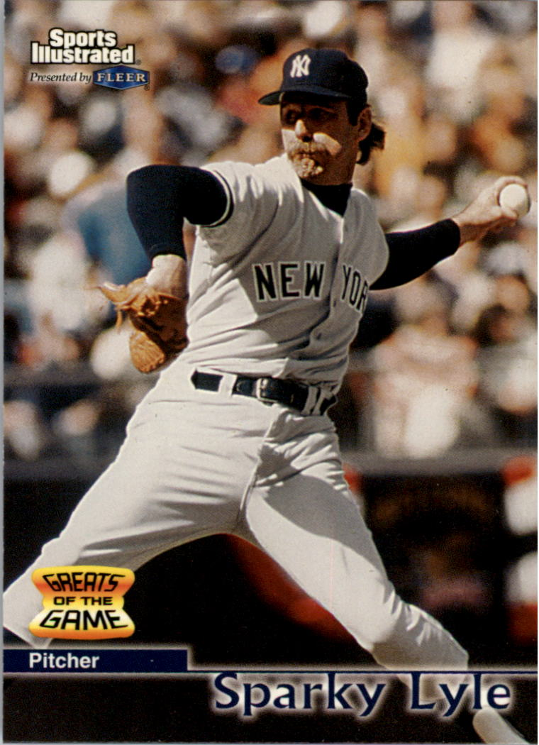 1999 Sports Illustrated Greats of the Game #28 Sparky Lyle