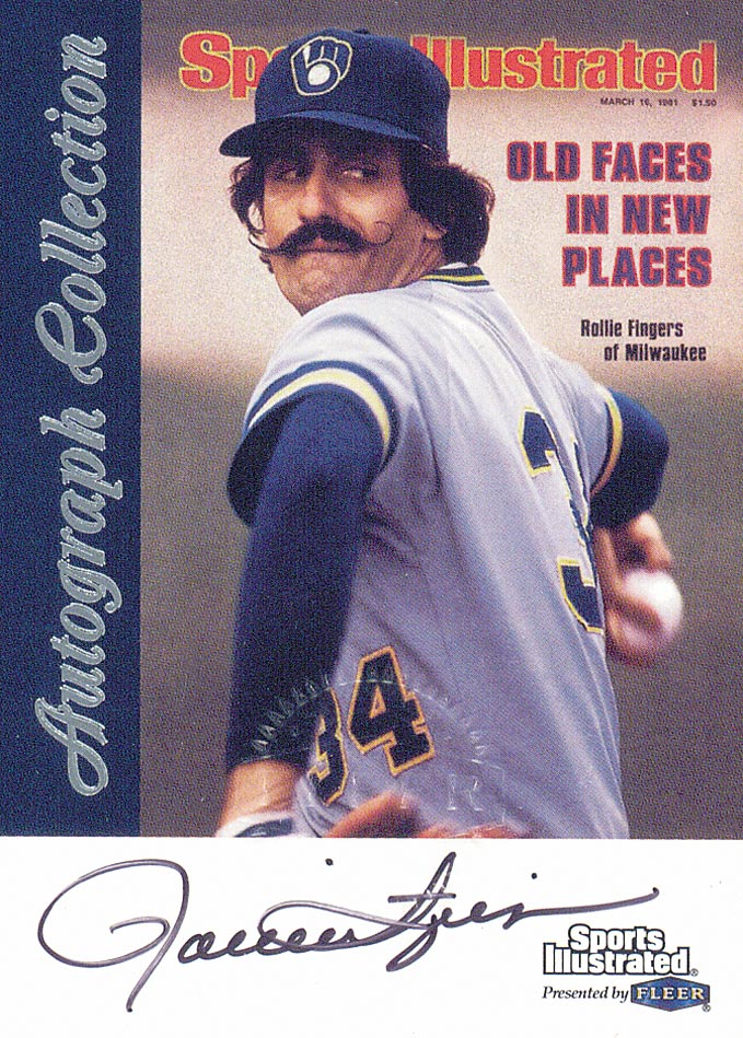 1999 Sports Illustrated Greats of the Game Autographs #23 Rollie Fingers