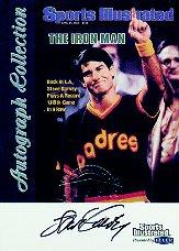1999 Sports Illustrated Greats of the Game Autographs #26 Steve Garvey