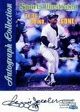 1999 Sports Illustrated Greats of the Game Autographs #34A Reggie Jackson