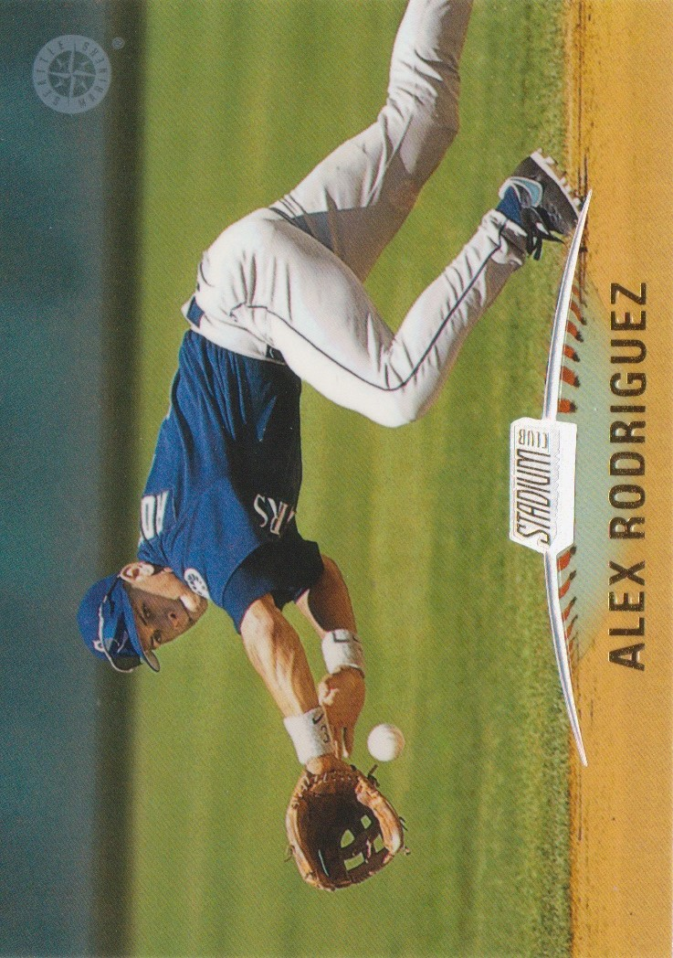 1999 Stadium Club #1 Alex Rodriguez