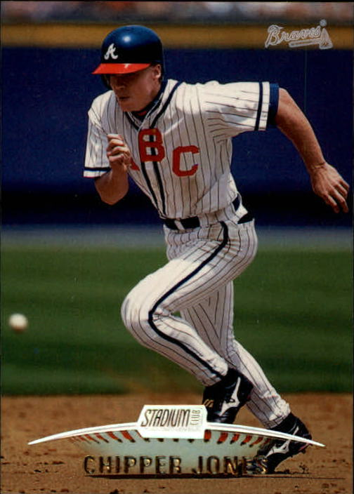 1999 Stadium Club #2 Chipper Jones