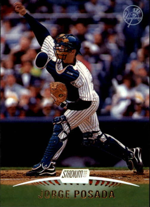 1999 Stadium Club #58 Jorge Posada