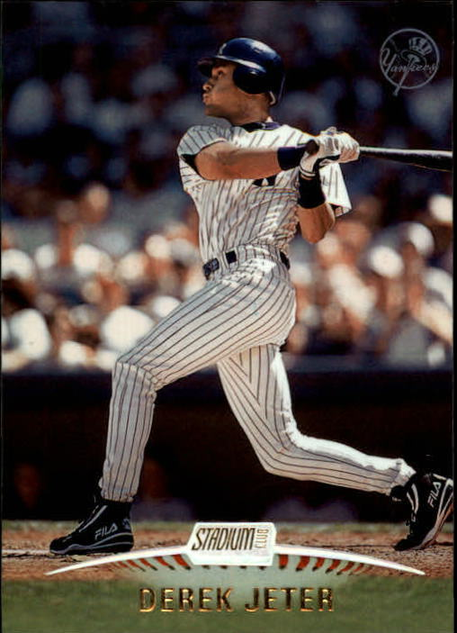 1999 Stadium Club #65 Derek Jeter