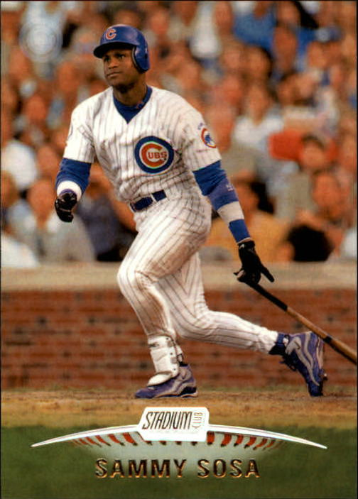 1999 Stadium Club #66 Sammy Sosa
