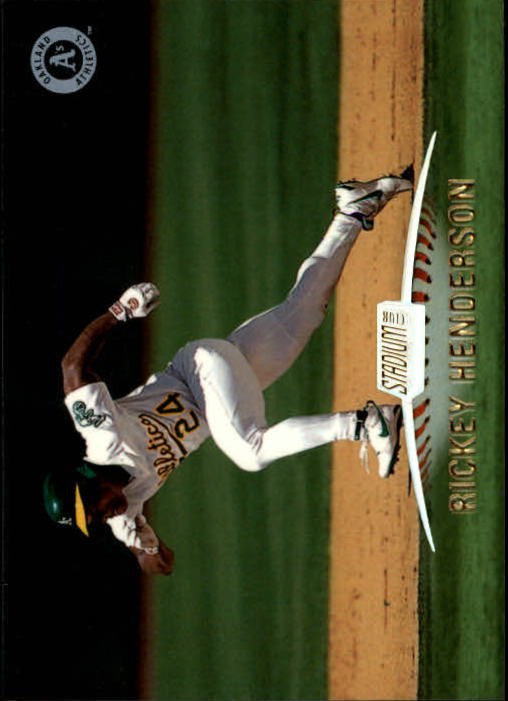 1999 Stadium Club #79 Rickey Henderson