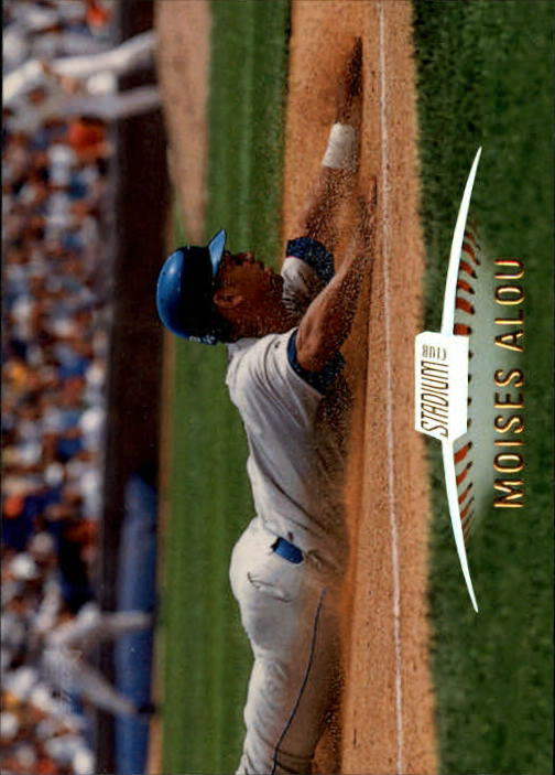 1999 Stadium Club #88 Moises Alou