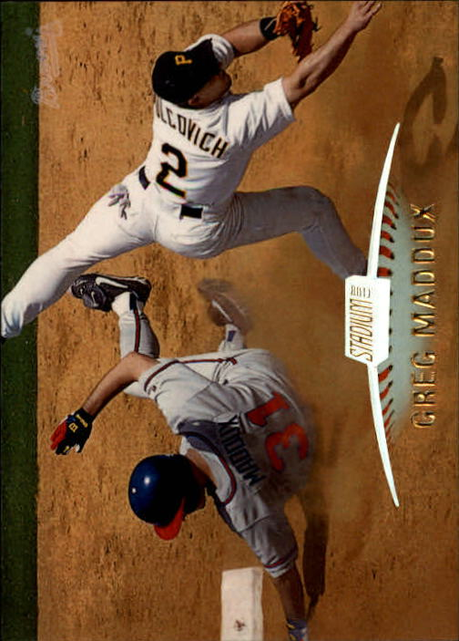1999 Stadium Club #100 Greg Maddux