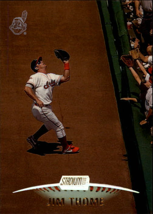 1999 Stadium Club #120 Jim Thome