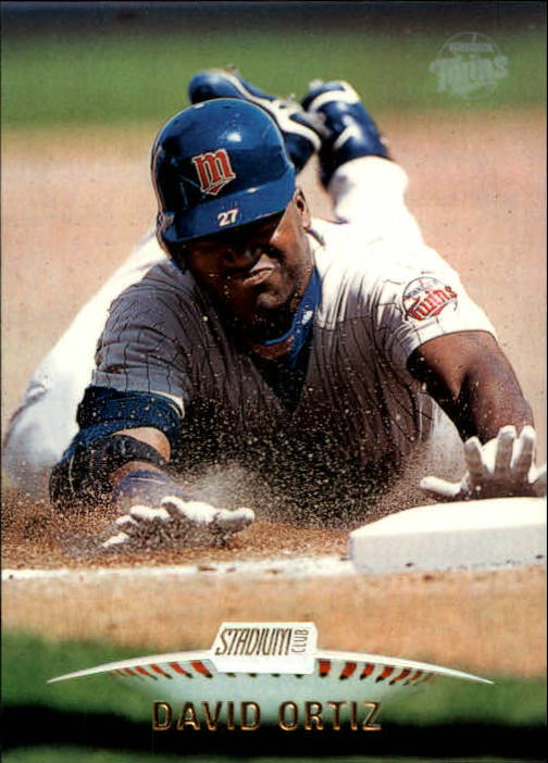 1999 Stadium Club #228 David Ortiz