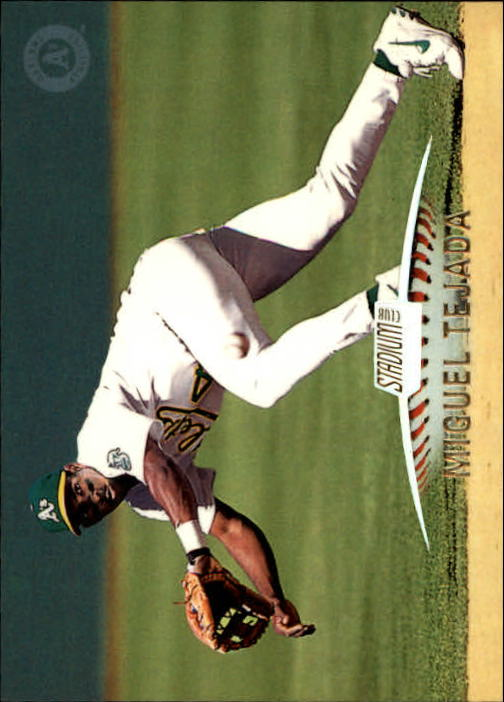 1999 Stadium Club #294 Miguel Tejada