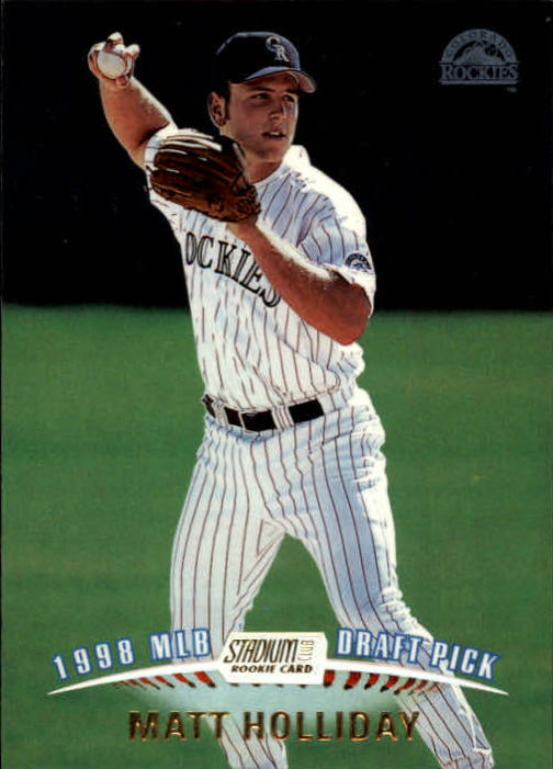 1999 Stadium Club #341 Matt Holliday SP RC