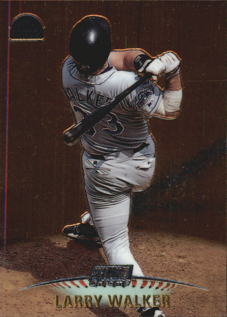 1999 Stadium Club Chrome #SCC12 Larry Walker