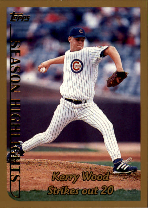 1999 Topps #204 Kerry Wood HL