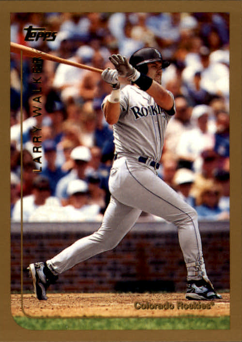 1999 Topps #350 Larry Walker