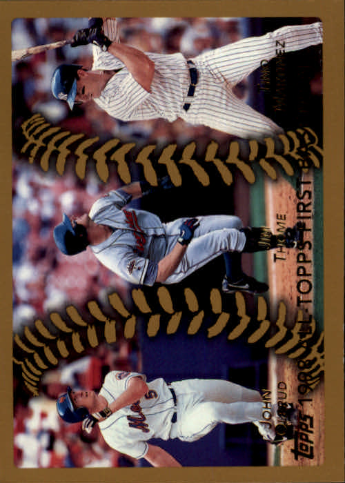 1999 Topps #451 Olerud/Thome/Martinez AT
