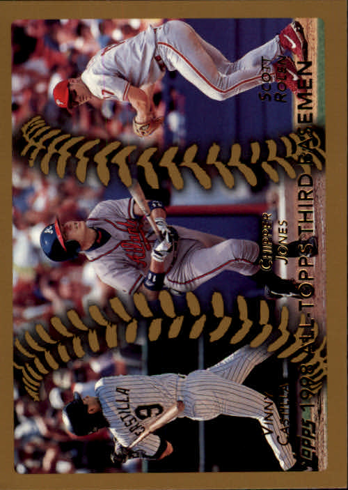 1999 Topps #453 Castilla/Jones/Rolen AT