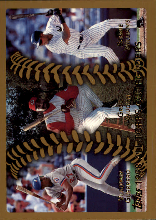 1999 Topps #458 Guerrero/Vaughn/B.Will AT