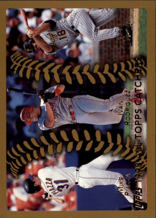 1999 Topps #459 Piazza/IRod/Kendall AT