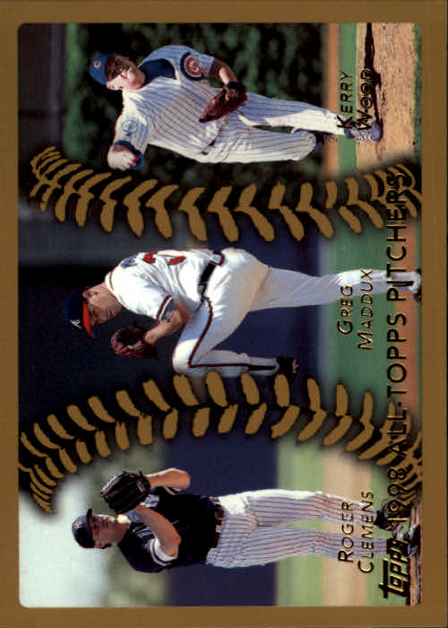 1999 Topps #460 Clemens/Wood/Maddux AT