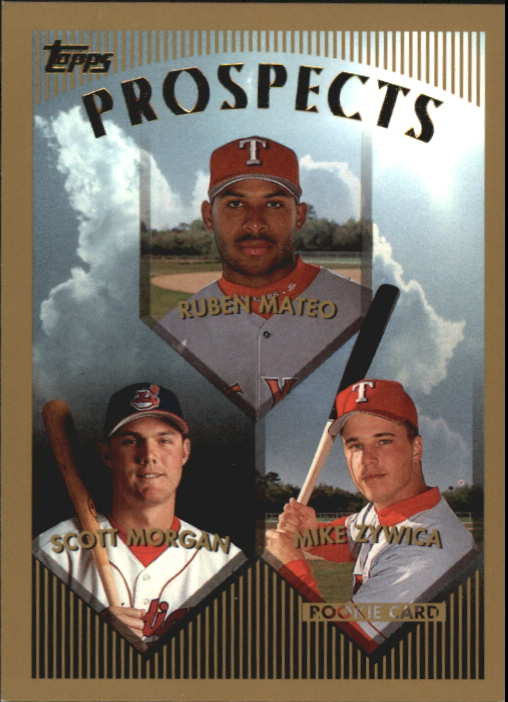1999 Topps MVP Promotion #430 M.Zwicka/Mateo/Morgan