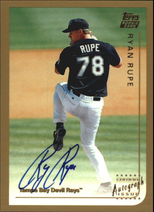 1999 Topps Traded Autographs #T20 Ryan Rupe