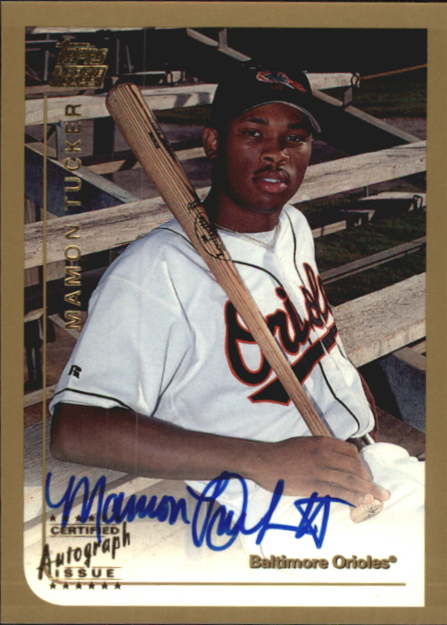 1999 Topps Traded Autographs #T39 Mamon Tucker