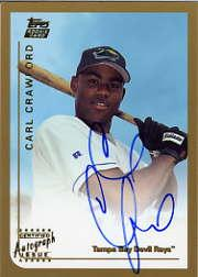 1999 Topps Traded Autographs #T75 Carl Crawford