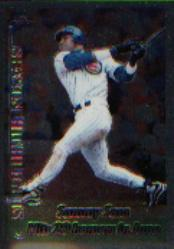 1999 Topps Chrome #202 Sammy Sosa HL