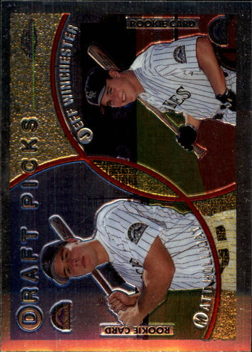 1999 Topps Chrome #442 M.Holliday/J.Winchester RC