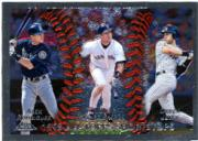 1999 Topps Chrome #452 ARod/Nomar/Jeter AT
