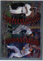 1999 Topps Chrome #455 Bonds/Ramirez/Walker AT