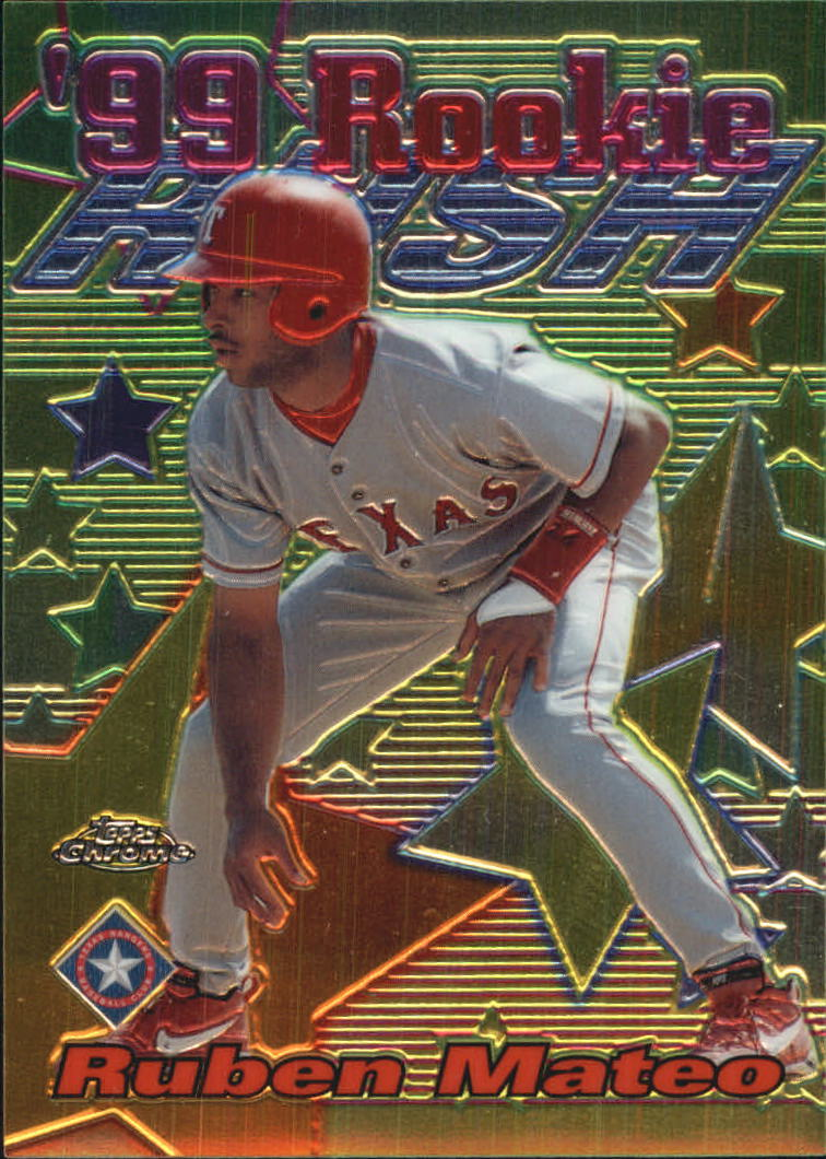 1999 Topps Chrome All-Etch #AE17 Ruben Mateo